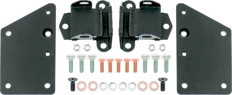 LS Series / Vortec Motor Mounts - 2 Plates and 2 Motor Mount Pads