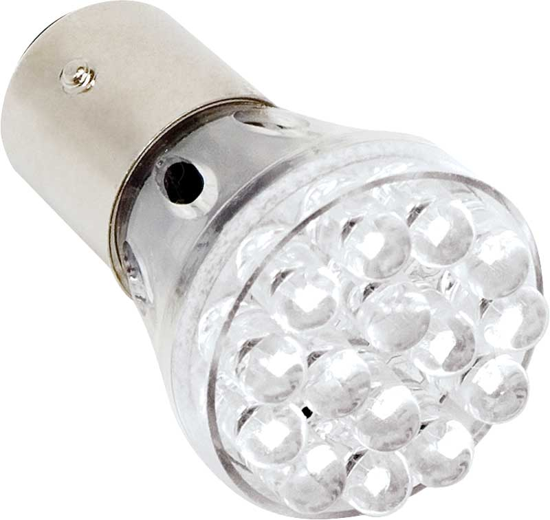 Red LED Replacement Bulb Dual Contact 1157 (BAY15D Base)