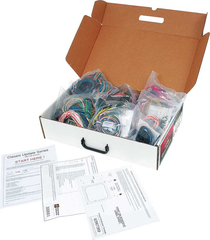 500661 1967 1968 all makes all models parts 500661 1967 68 camaro wire harness packaging at gsmx.co