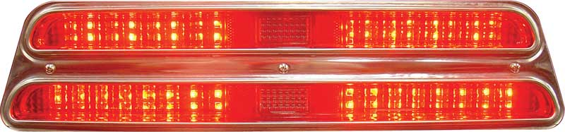 1969 Firebird Sequential LED Tail Lamps W/ Pigtails
