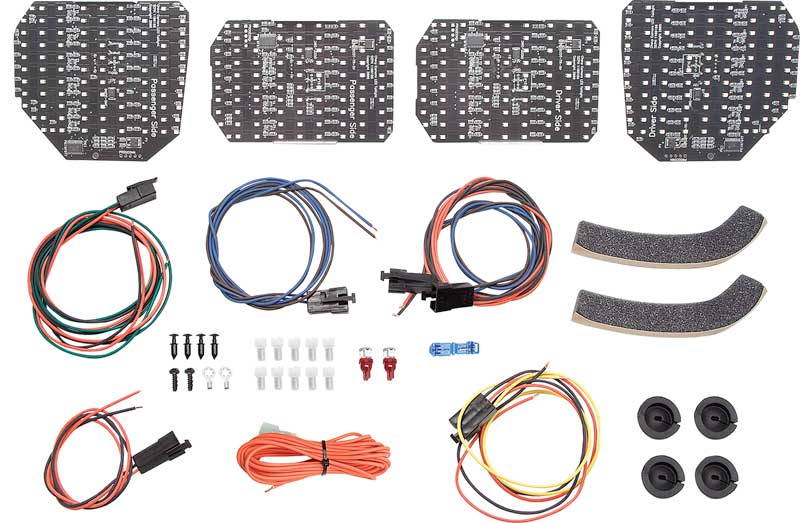 1985-1992 All Makes All Models Parts   500888   1985-92 Camaro IROC / RS /  Z28 Digi-Tails Sequential LED Tail Lamp Set (with tail and corner lamps)  