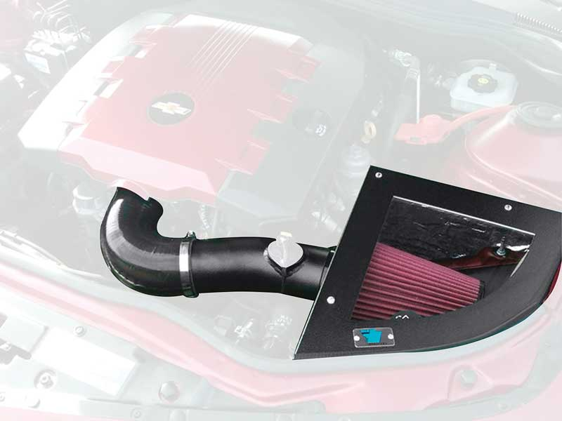 2012-14 CAMARO 3.6L CAI COLD AIR INTAKE BLACK TEXTURED FINISH