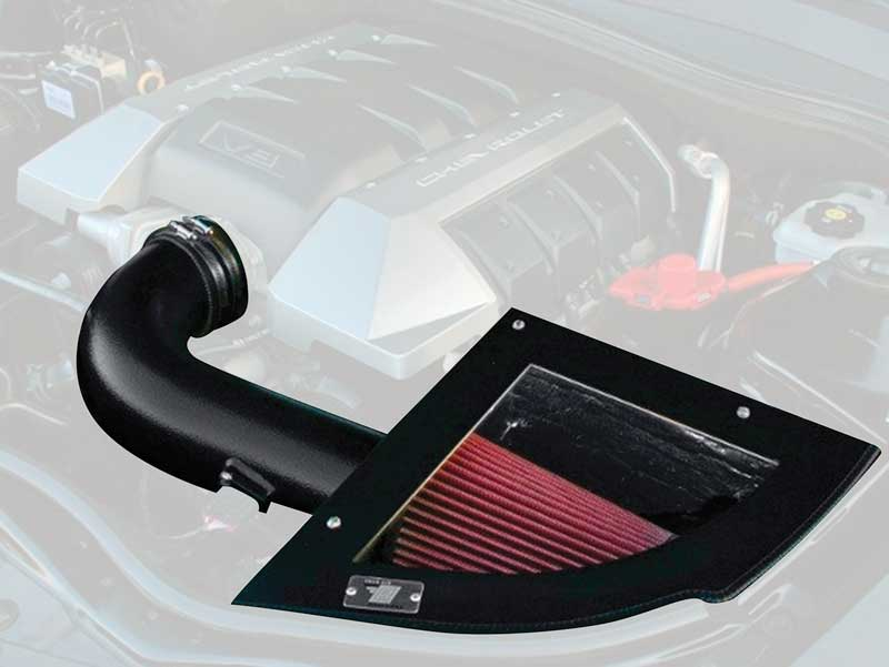 2010-14 CAMARO 6.2L CAI COLD AIR INTAKE BLACK TEXTURED FINISH