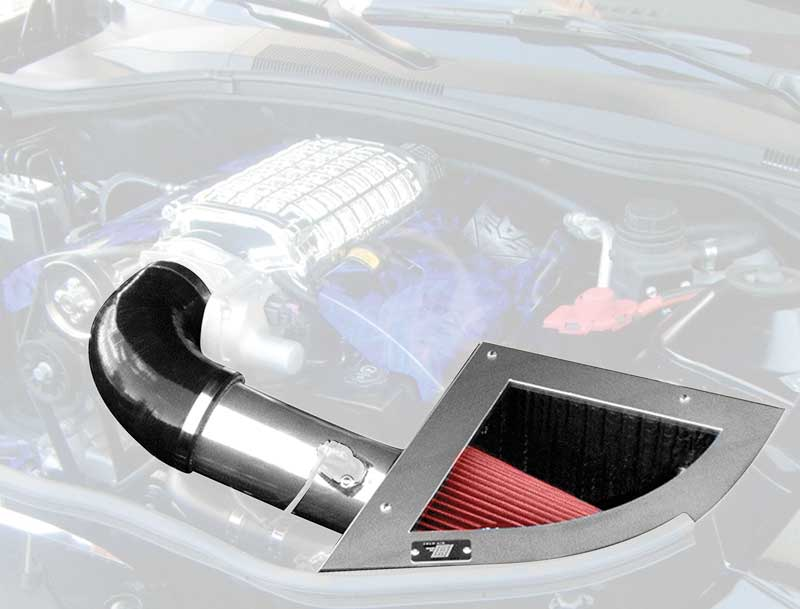2010-14 Camaro 6.2L Cai Cold Air Intake Near Chrome Finish For Magnuson/Whipple Supercharger