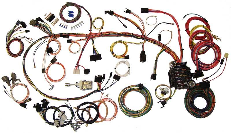1970 1973 all makes all models parts 510034 1970 73 camaro classic update wiring harness. Black Bedroom Furniture Sets. Home Design Ideas