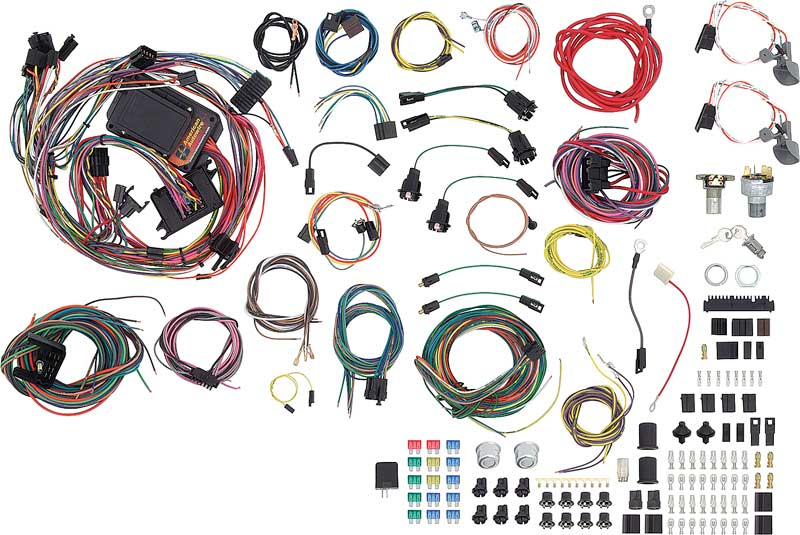 510140 - 1962-67 chevy ii / nova classic update wire harness kit