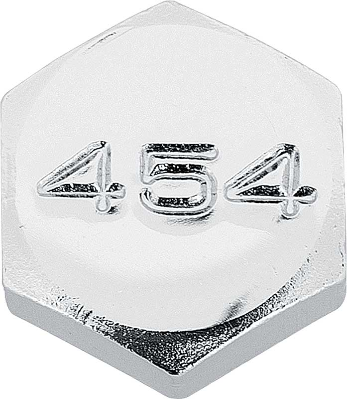 Chrome Hex Head 10 Bolt Differential Cover Bolt Set with 350 Logo (5/16-18 X 1/2)