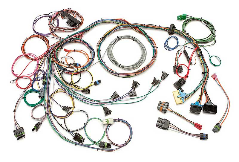 1990-92 camaro/firebird tuned port injection wiring harness with map sensor  extra length