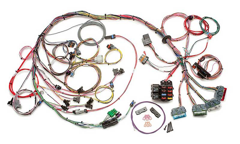 painless performance products all models parts classic industries 1992 97 lt1 lt4 v8 engines painless fuel injection wiring harness standard length