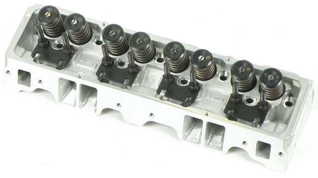 EDELBROCK PERFORMER RPM CYLINDER HEAD 1955-86 CHEVROLET SMALL BLOCK  64CC STRAIGHT PLUGS (EA)