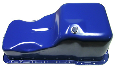1969-76 Ford / Mercury 351W Front Sump Oil Pan - Blue - Mustang / Ranchero / Cougar