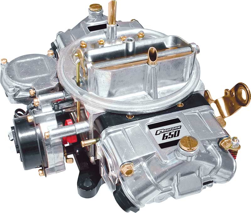 Proform Street Series 650 CFM Carburetor with Mechanical Secondaries and Electric Choke