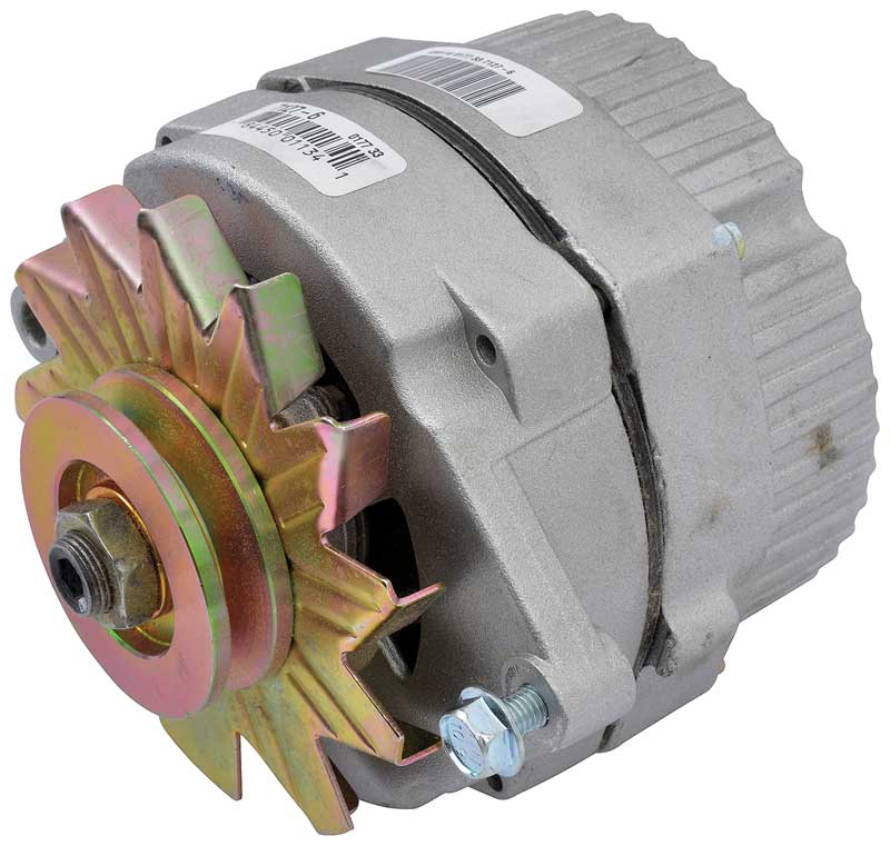 1982-84 63 Amp with Internal Regulator Remanufactured Alternator (6 O'Clock)