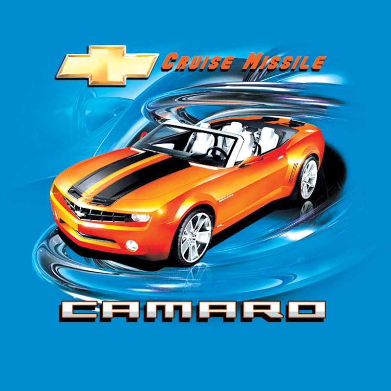 Camaro Cruise Missile T-shirt Large