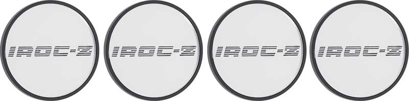 1988-90 IROC-Z Center Hub Cap Set