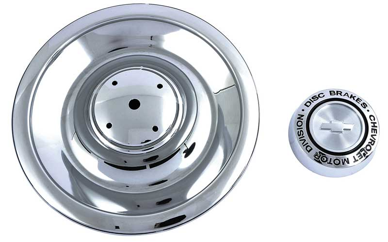 Chrome Disc Brake Rally Wheel Cap - Plastic (For Year One Aluminum Rally Wheels Only)