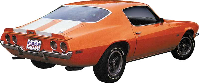 1973 Camaro Z28 >> 1970-1973 All Makes All Models Parts   80004   1970/1973 Camaro Z28 with RS Stencil Set ...