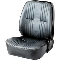 Procar Pro 90 Black Vinyl Low Back Reclining Bucket Seat Without Headrest LH