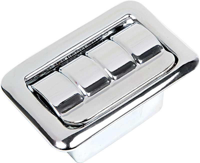 1968-90 Rear Quarter Ash Tray Assembly With Ribbed Lid