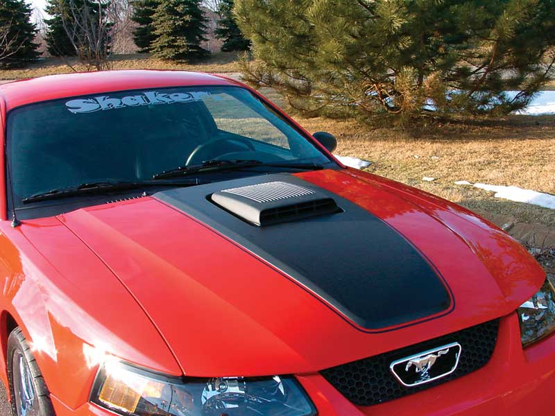 1999-2004 Ford Mustang GT Hood Scoop Attaching Mounting Hardware Kit