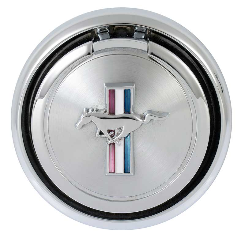 1970 Ford Mustang Flip Down Gas Cap without Emblem