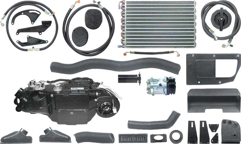 1966-1967 All Makes All Models Parts | 961166 | 1966-67 Chevy II/Nova  Vintage Air Gen-IV Sure Fit R134A AC System (Fits With Or Without Factory  Air) |