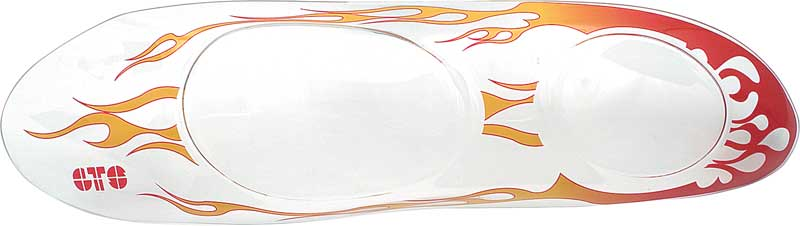 98-02 Headlight Cover Flames