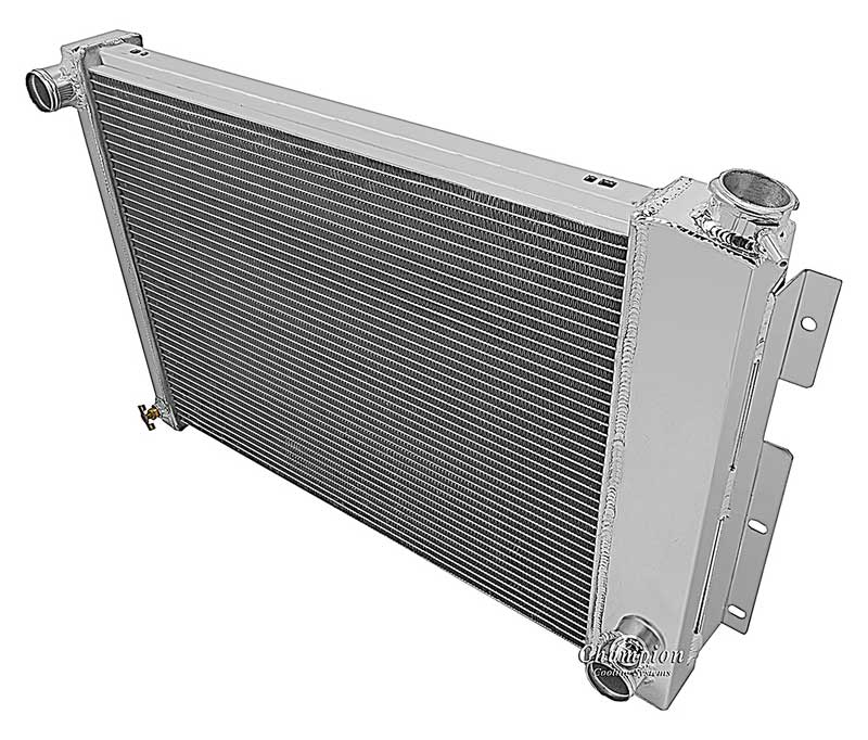 Champion Racing 4 Row Aluminum Radiator For 1982-92 Chevy//Pontiac Cars
