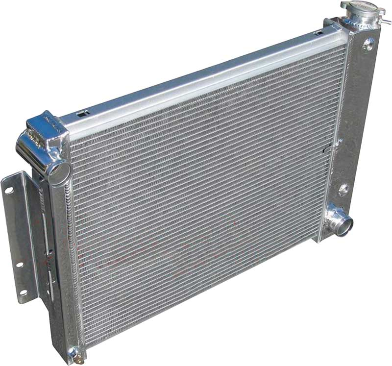 1967-1969 All Makes All Models Parts | A8600112 | 1967-69 Camaro / Firebird  4 Row Aluminum Radiator with 17 X 23 X 2-34 Core | Classic Industries