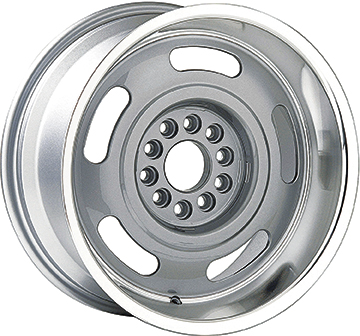 1966 GMC Truck Parts | A9507860 | 17 x 8 Cast Aluminum Rally Wheel with  4-1/2 Backspacing and Dual Lug Pattern | Classic Industries