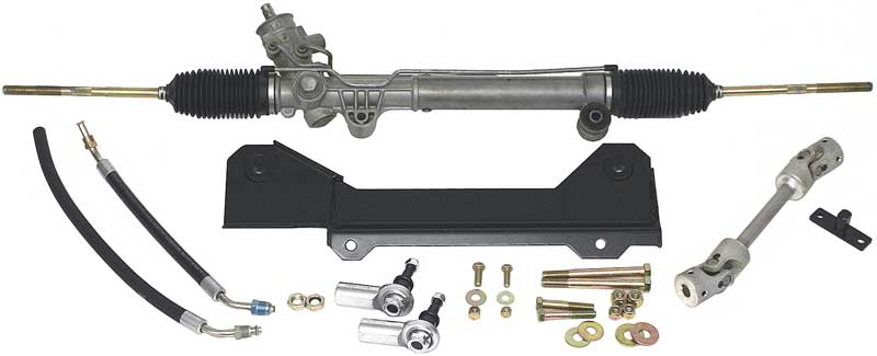 1968 Chevrolet Camaro Parts Steering Rack And Pinion