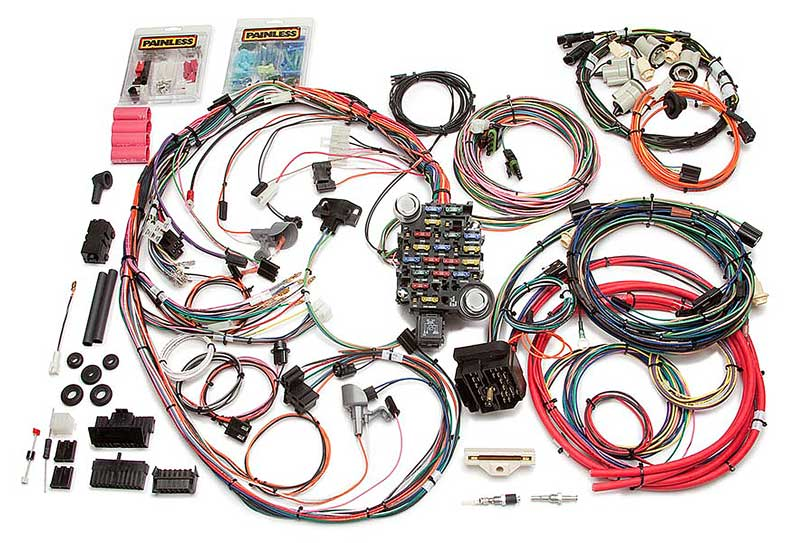 camaro parts electrical and wiring wiring and connectors 1974 77 camaro 26 circuit chassis wiring harness