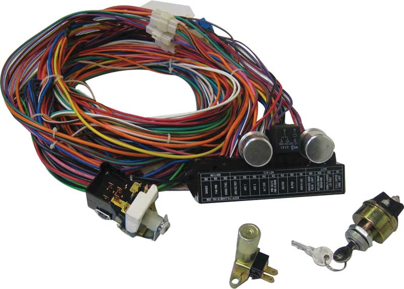 1969 mopar parts electrical and wiring wiring and connectors keep it clean ultra small 15 fuse 24 circuit 118 terminal wire harness system switch kt