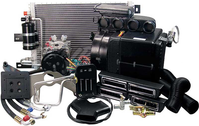 64 66 GM Truck AC System With Pull Control