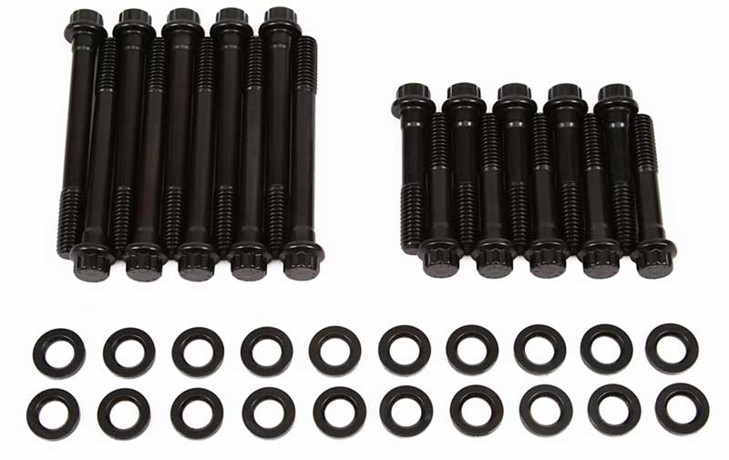 1983 Ford Mustang Parts   AR1543701   ARP 12-Point Black Oxide Head Bolt  Kit - 260-302   Classic Industries