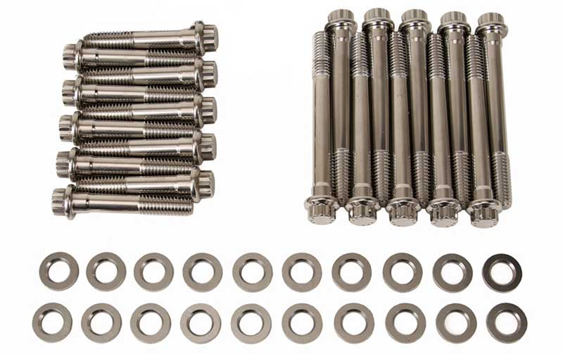 FORD SMALL BLOCK SBF 260 289 302 STAINLESS STEEL ENGINE ALLEN BOLT KIT