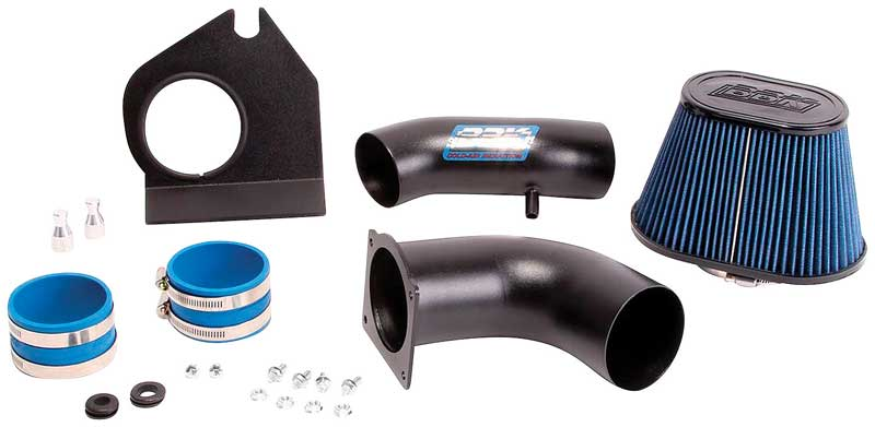 BBK bbk15575 Mustang 5.0 Cold Air Intake Kit-Fenderwell Style-Blackout Finish
