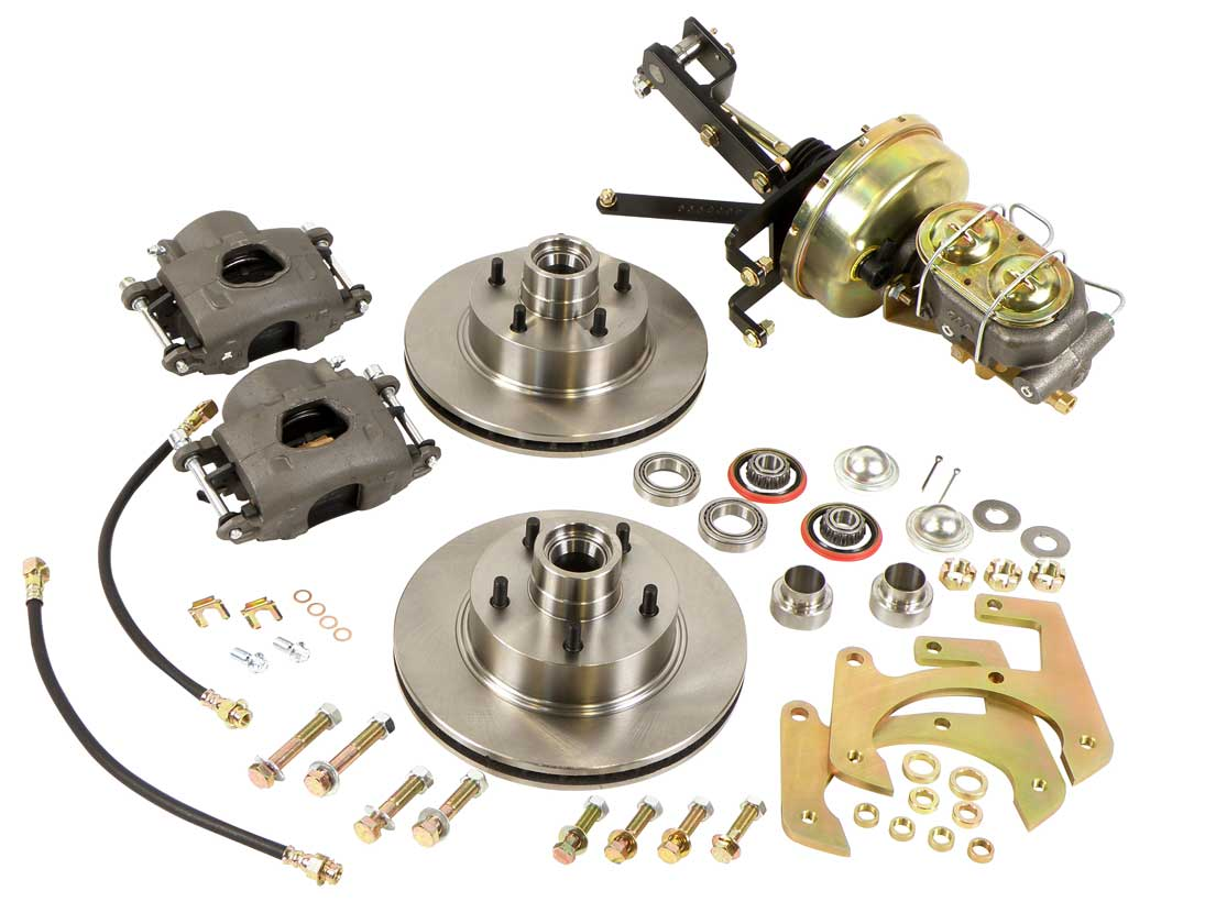 how to change from drum brakes to disc