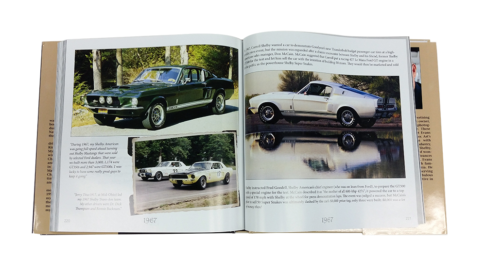 1965 Ford Mustang Parts Bookcs Carroll Shelby A Collection Of