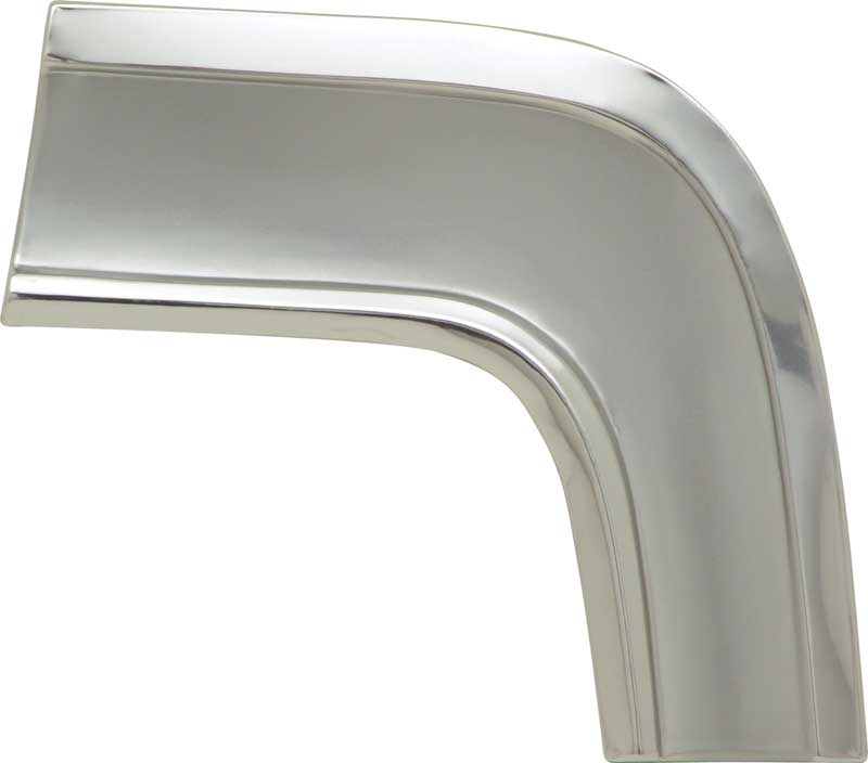 1964 64 CHEVY IMPALA SS SUPER SPORT POLISHED STAINLESS STEEL GAS DOOR GUARD TRIM