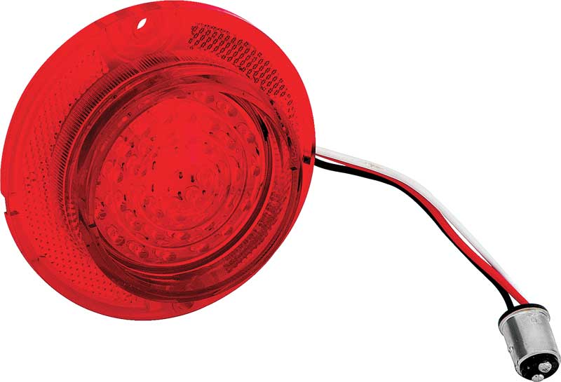 1963 All Makes All Models Parts | C6301 | 1963 Impala / Full Size LED Tail  Lamp With Red Lens | Classic Industries