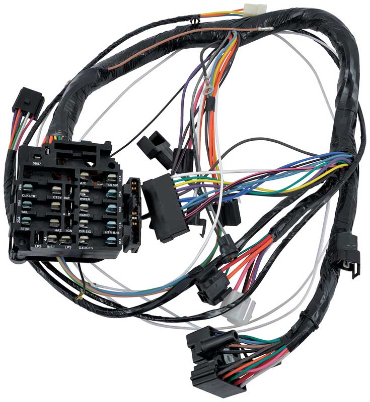 1970 all makes all models parts ca01544 1970 camaro with auto 1970 Impala Wiring Harness ca01544 1970 camaro with auto trans and console shift oe style underdash harness