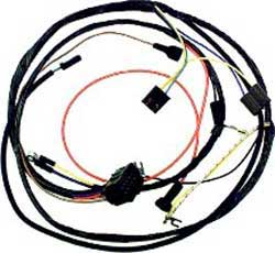 1974 all makes all models parts ca48434 1974 camaro v8 with hei, manual trans and factory gauges oe style engine wiring harness classic 2001 camaro wiring harness 1974 camaro wiring harness #11