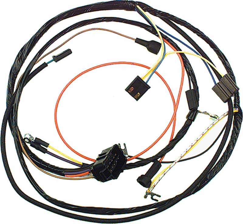 1967 camaro parts electrical and wiring wiring and connectors 67 8 cylinder small block gauges engine harness