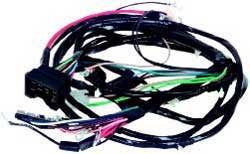 CA85058 1968 chevrolet camaro parts electrical and wiring wiring and 1969 camaro engine wiring harness at readyjetset.co