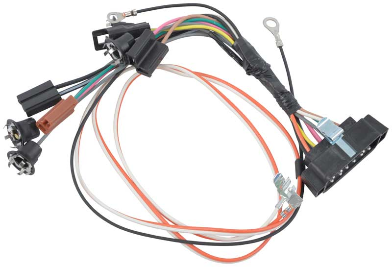 CA97581 1969 chevrolet camaro parts electrical and wiring classic wiring harness for 1973 camaro at n-0.co