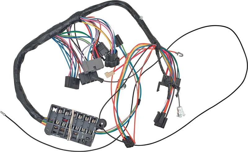 1963 impala parts electrical and wiring wiring and connectors 1963 bel air manual trans underdash wiring harness