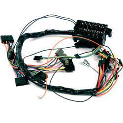 impala parts electrical and wiring wiring and connectors 1963 impala manual trans underdash wiring harness