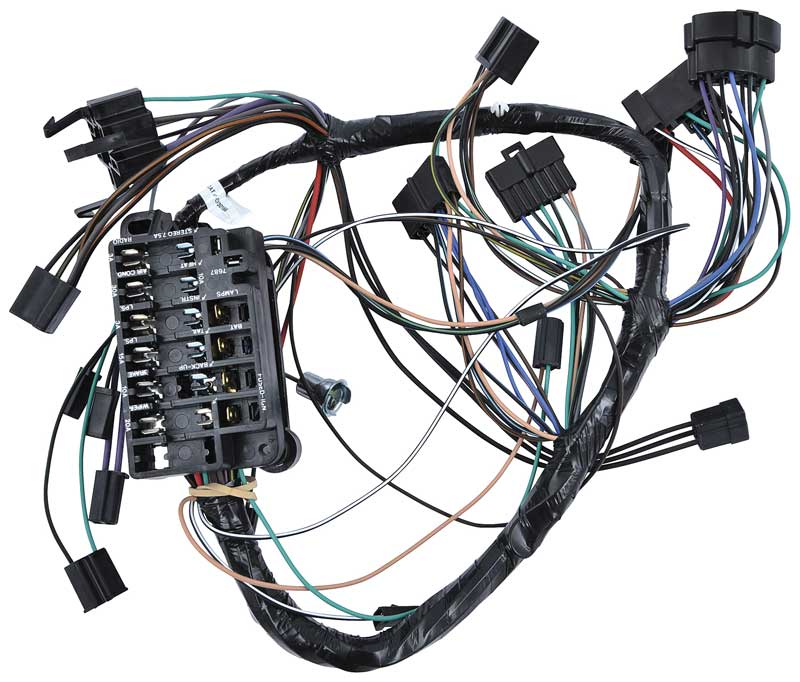 1964 chevrolet impala parts electrical and wiring wiring and rh classicindustries com 65 impala wiring harness diagram 1964 impala complete wiring harness