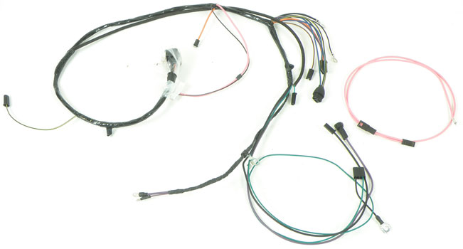 CG56764H 1965 chevrolet impala parts electrical and wiring wiring and Painless Wiring Harness Chevy at fashall.co